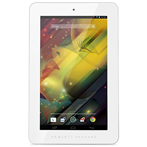 HP 7 Plus 7-Inch 8GB Tablet (White) at Electronic-Readers.com