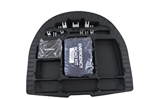 Genuine Nissan Accessories 999C2-UZ000 Trunk Sub-Floor Organizer Kit