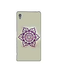 sony z5 plus nkt-04 (46) Mobile Case by Mott2 - Flower Rangoli Design