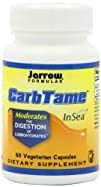 Jarrow Formulas Carbtame Diet Supplement Capsules 60 Count