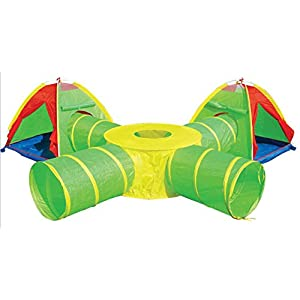 Pop-up Play Tent & Tunnel Super Set