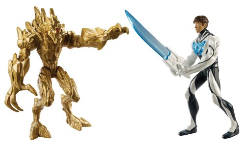 Mattel Y1408 - Max Steel Ms Battle Packturbo Sword Max vs Exploding Earth