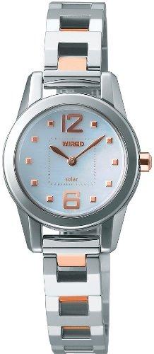 WIRED f (ワイアード エフ) 腕時計 SWEET SOLAR COLLECTION (スウィート ソーラー コレクション) エコテックソーラー AGED002 レディース