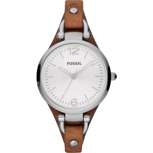 Fossil-Womens-Quartz-Watch-Ladies-Dress-ES3060-with-Leather-Strap