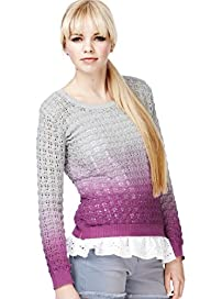 Angel Pure Cotton Ombre Knitted Jumper