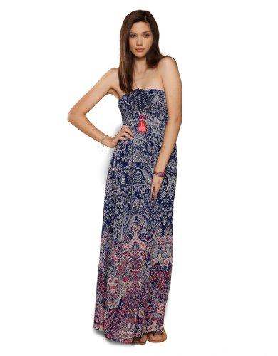 9fccf95bfe Accessorize Paisley Placement Maxi Dress - Wadulifashions