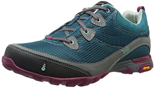 Ahnu Women's Sugarpine Air Mesh Hiking Shoe, Tropical Teal, 7 M US