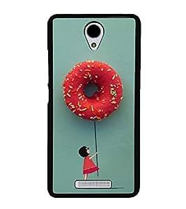 Hanging with Doughnuts 2D Hard Polycarbonate Designer Back Case Cover for Xiaomi Redmi Note 2 :: Redmi Note 2 Prime