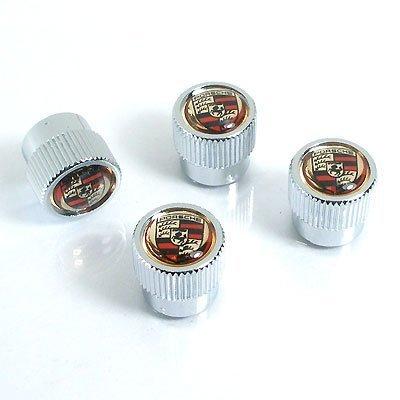 porsche-color-logo-abs-chrome-tire-stem-valve-caps
