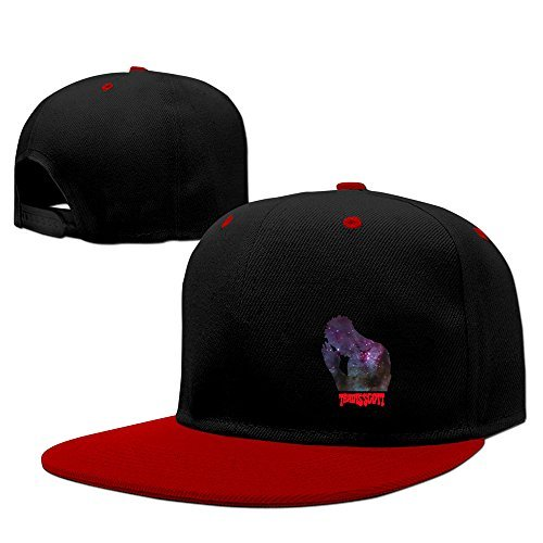 Cool Travis Scott Adjustable Baseball Hats Red