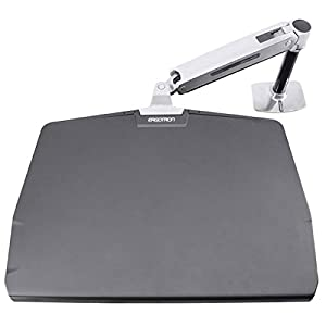 Ergotron Polished Aluminum WorkFit P Workstation       review and more news