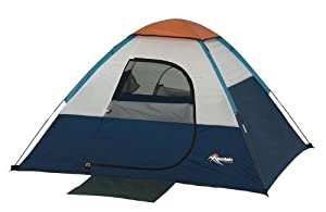 Mountain Trails Current Hiker 6-Foot by 5-Foot 2-Person Dome Tent by Wenzel