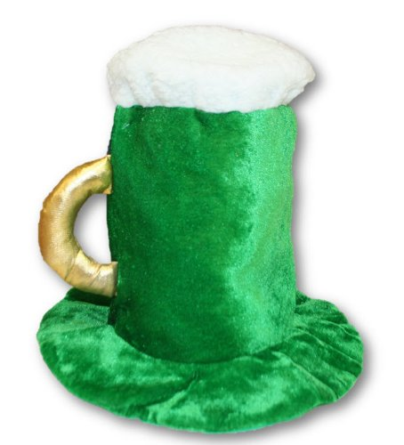 St. Patrick's Day Beer Mug Top Hat