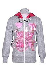 Cool Quotient Girl's Sweatshirts [CQGW15I112_Grey_3-4 Years]