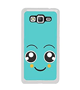 Cute Face 2D Hard Polycarbonate Designer Back Case Cover for Samsung Galaxy Grand Prime :: Samsung Galaxy Grand Prime Duos :: Samsung Galaxy Grand Prime G530F G530FZ G530Y G530H G530FZ/DS