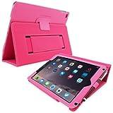 英国Snugg社製 Apple iPad Pro 9.7 用 PUレザーケース カバー - スタンド機能・生涯補償付き (ホットピンク)