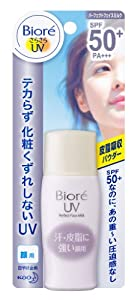 Biore sarasara UV Perfect Face Milk Sunscreen 30ml. SPF50 + PA+++ for Face (japan import)