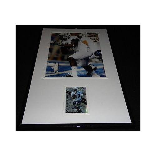 Legarrette Blount Signed Framed Rookie Card & Photo Display Oregon Steelers - Signed College Cards coupon codes 2015