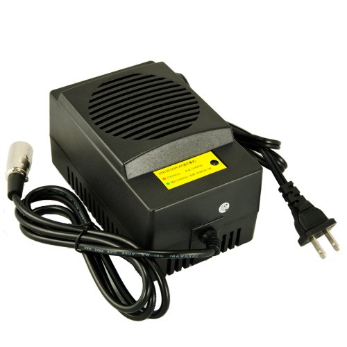 NEW 24V 5A Power Wheel Chair Battery Charger For Pacesaver Plus III Pride Mobility Revo Rascal 301PC 318PC USA Seller
