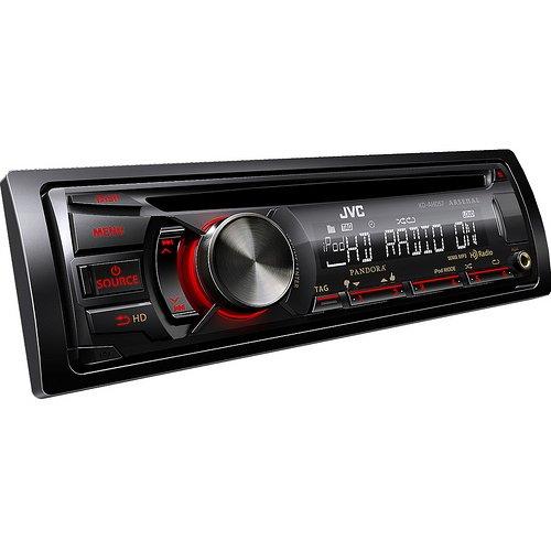 Jvc Kd-Ahd57 In-Dash Cd/Mp3/Usb Car Receiver W/ Hd Radio And Remote