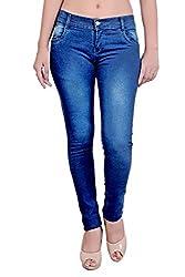 Blinkin Blue Slimfit Women Jeans