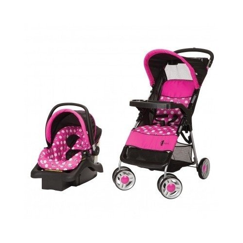 minnie mouse infant travel system stroller and carseat disney baby baby products store. Black Bedroom Furniture Sets. Home Design Ideas