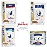 Royal Canin Veterinary Diet Renal Wet Feline 48 X 85g Chicken Sachet