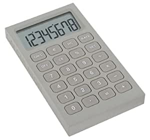 Amazon.com: Lexon Buro Desk Accessories, Gray Calculator: Office