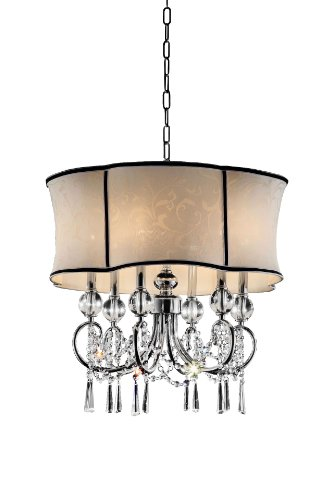 OK-5131H 25-Inch H Nuvola Crystal Ceiling Lamp OK Lighting B009P0GR58