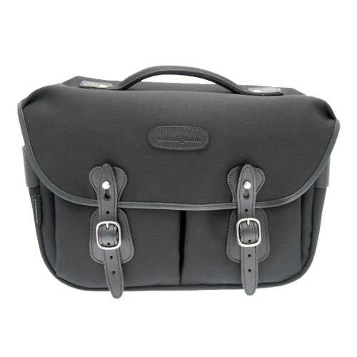 Billingham Hadley Pro Black Canvas Camera Bag with Black Leather Trim