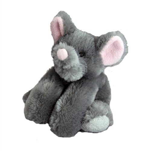 "Purr-Fection Derby Junior Snuggle Ups Elephant 8"" Plush"