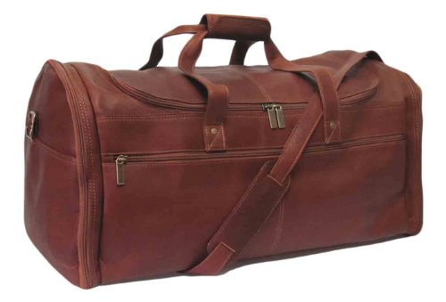 Cape Cod Leather World Traveler Extra Large Leather Duffel Bag