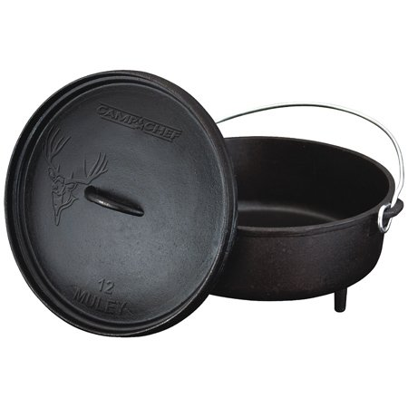 Camp Chef 6 - qt. Cast Iron Mule Deer Dutch Oven