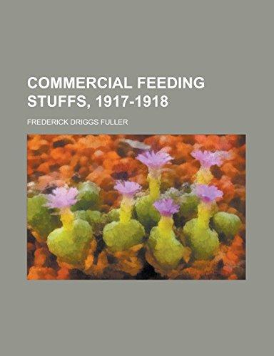 Commercial Feeding Stuffs, 1917-1918