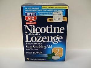 Amazon.com: Rite Aid Stop Smoking Aid, Nicotine Lozenges