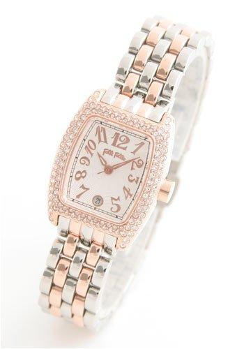 【5年保証付】Folli Follie (フォリフォリ) 腕時計 シルバー WF5R081BZS レディース [並行輸入品] [並行輸入品]