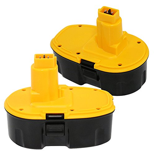 Enegitech 18V 3.0Ah Power Tool (Pod-Style) Replacement Battery for Dewalt, 2 Pack (Dewalt 18v Battery compare prices)