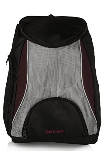 Fastrack Purple Casual Backpack (A0325NPR01) (violet)