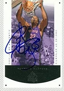 Antonio Davis Autographed Hand Signed Basketball Card (Toronto Raptors) 2003 Upper... by Hall of Fame Memorabilia