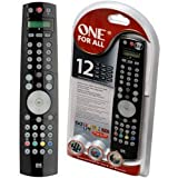 One For All URC7781 - Universal Remote Control 12 in 1 Stealth Series
