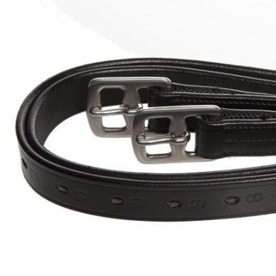 Steigbügelriemen Horse & Passion Edelstahl schwarz