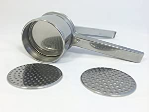 Eppicotispai Stainless Steel Potato Masher Ricer with 2 Inserts by Eppicotispai