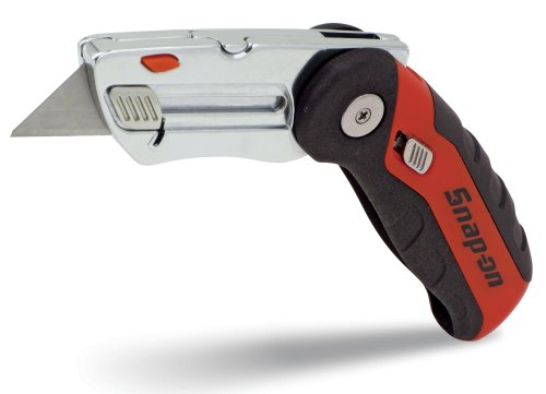 Snap-on Official Licensed Product 870249 Quick-Change Folding Utility Knife