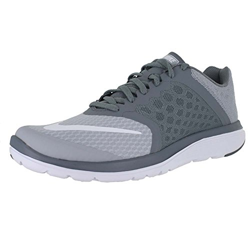 Nike Men's FS Lite Run 3 Wolf Grey/White Cool Grey Running Shoe 11 Men US (Cool Greys 11 compare prices)