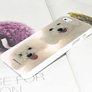 Amazon.com: MaxSale Two Bichon Frise Dogs Pattern Plastic Hard Case