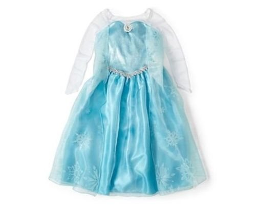 Disney Store Frozen Princess Elsa Costume Size Small 5/6 - 5T