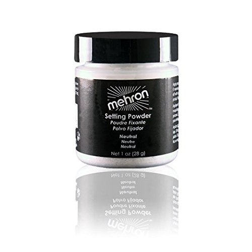 Mehron Setting Powder -Neutral,1 Oz(28 g) (Face Grease Paint compare prices)