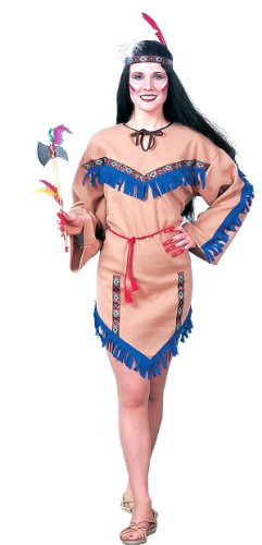Native American Princess Adult Costume with Tomahawk