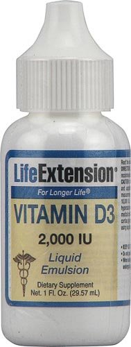 Life Extension Vitamin D3 - 2,000 Iu - 1 Fl Oz