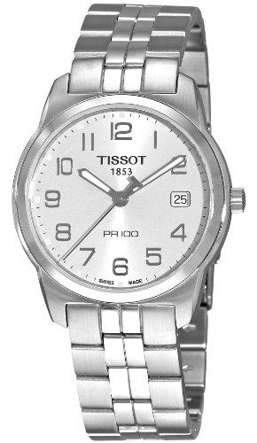 Tissot T-Classic PR 100 Silver Dial Men's watch #T049.410.11.032.01